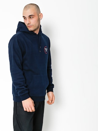 Brixton Hoody Wheeler III Eu HD (navy/red)