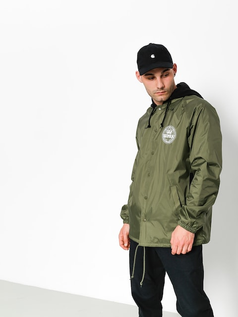 Supra Jacket Geo Coaches (military green)
