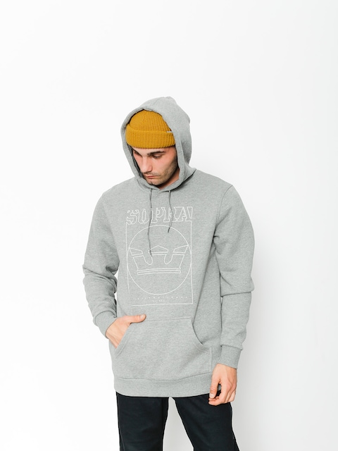 Supra Hoodie Lines HD (grey heather)