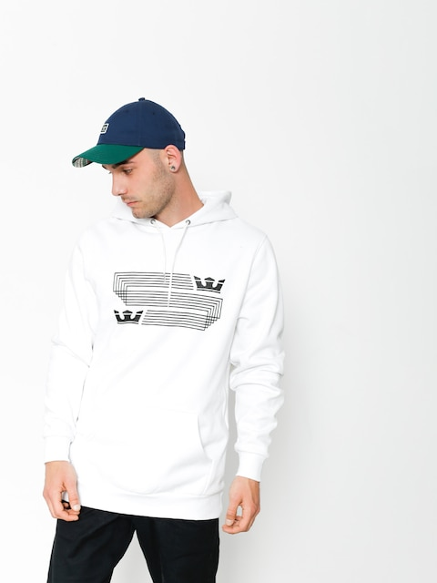 Supra Sweatshirt Linked Crown Stripe (white)