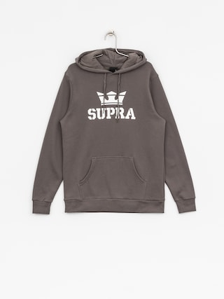 Supra Hoody Above HD (charcoal/white white)
