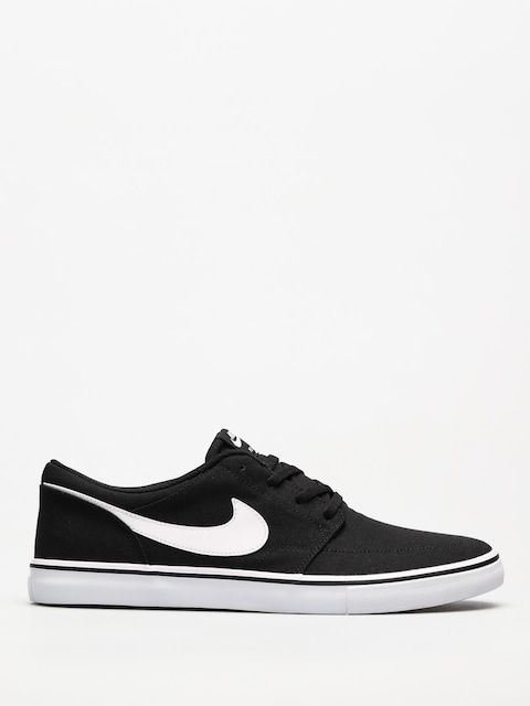 Nike SB Shoes Sb Solarsoft Portmore II Canvas (black/white)