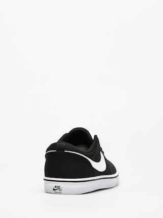 Nike SB Shoes Sb Solarsoft Portmore II Canvas (black/white)