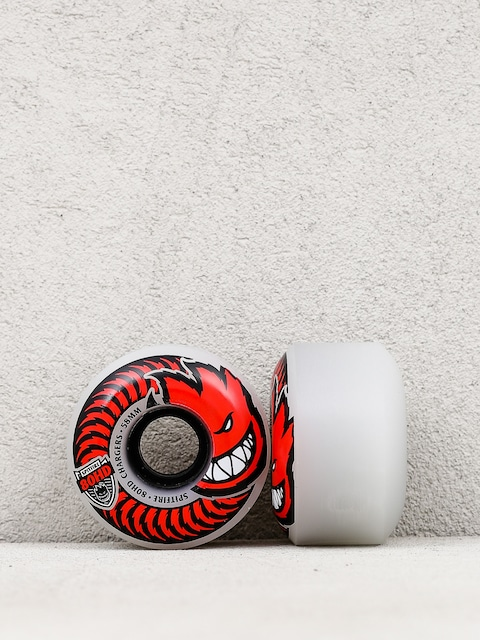 Spitfire Wheels 80 HD Chargers (grey/red)