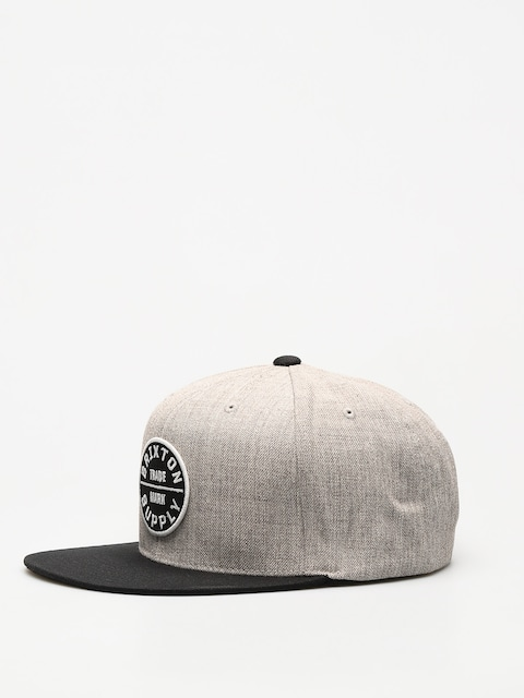 Brixton Cap Oath III Snap (heather grey/black)