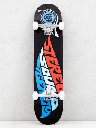 Stereo Skateboard Sound Agency (black/red/teal/blue)