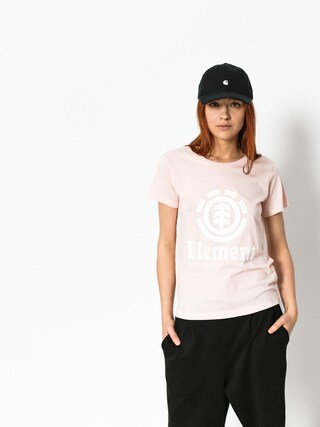 Element T-shirt Vertical Wmn (rose quartz)