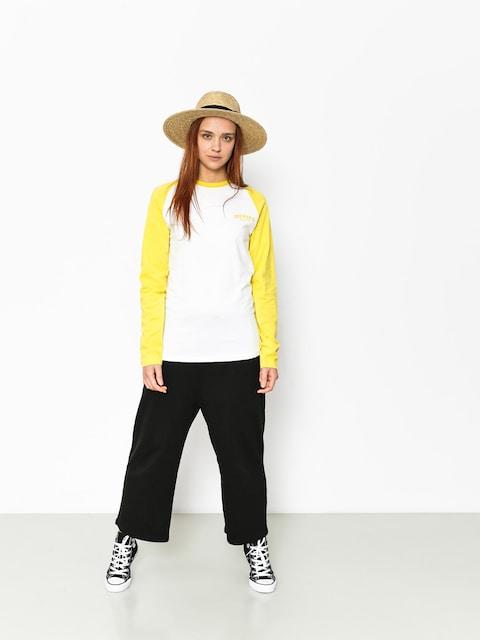 Dickies Longsleeve Baseball Wmn (dusk yellow)