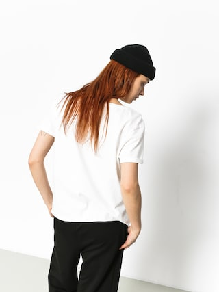 Volcom T-shirt Ride The Stone Wmn (wht)