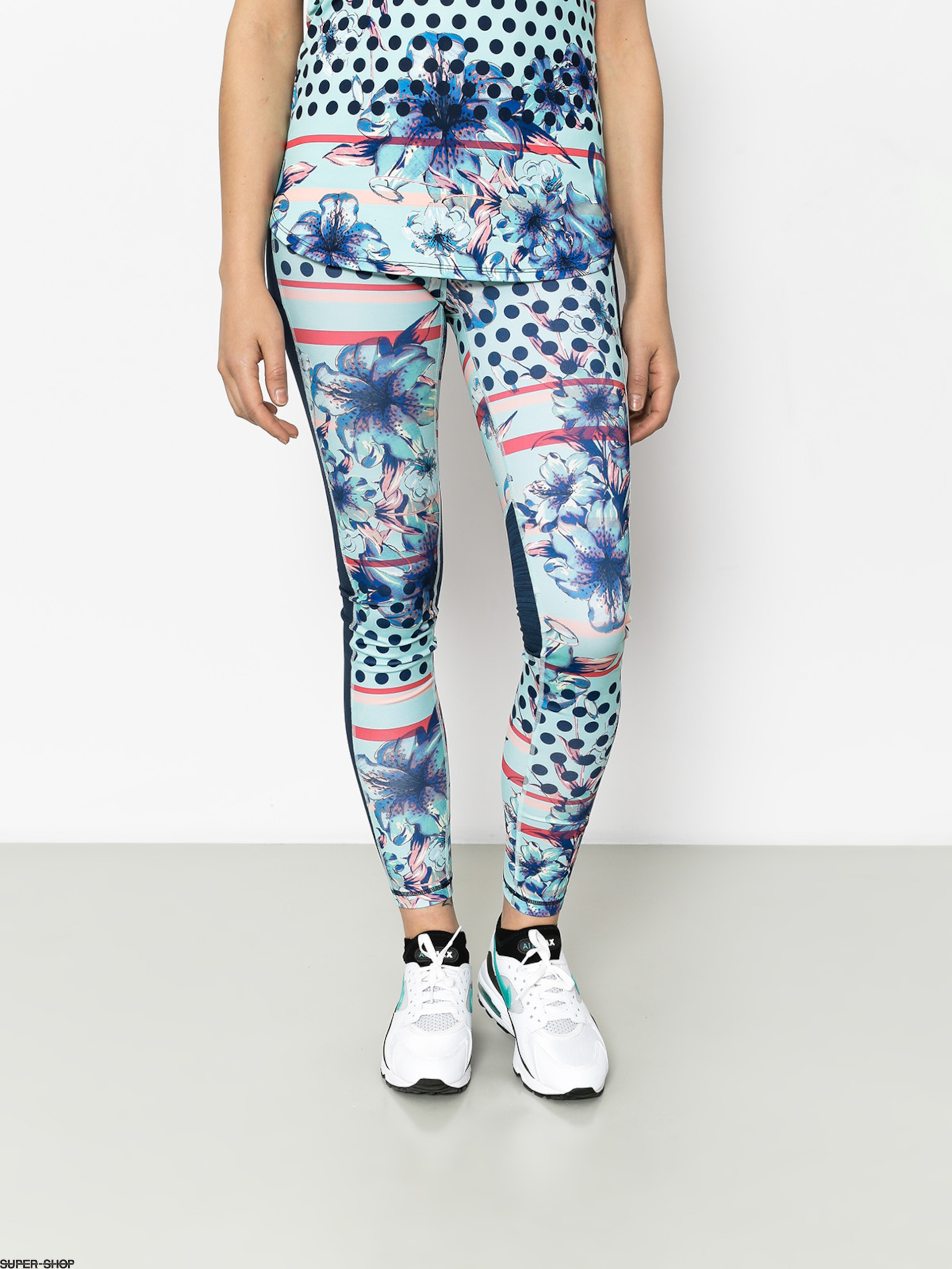 Roxy Leggins Spy Game Pant Wmn (blue light rain daze)