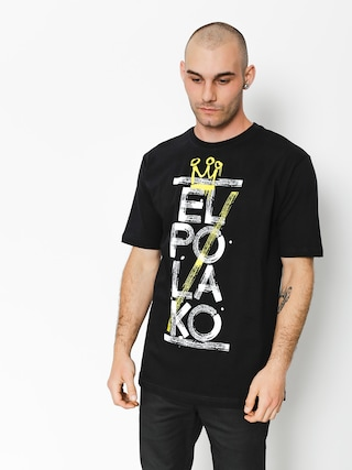 El Polako T-Shirt Brush (black)