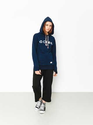 Femi Stories Hoody Ocean HD Wmn (dbl)