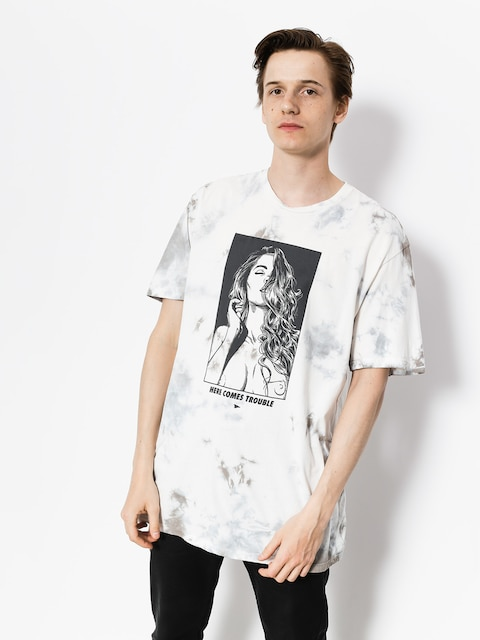 Primitive T-Shirt Sabine (black tie dye)