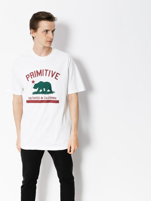 Primitive T-Shirt Cultivated Solid (white)