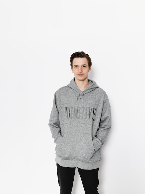 Primitive Hoodie League Paneled HD (grey)