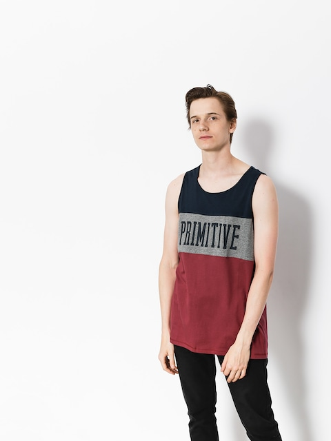 Primitive Tank top League (navy/grey/maroon)