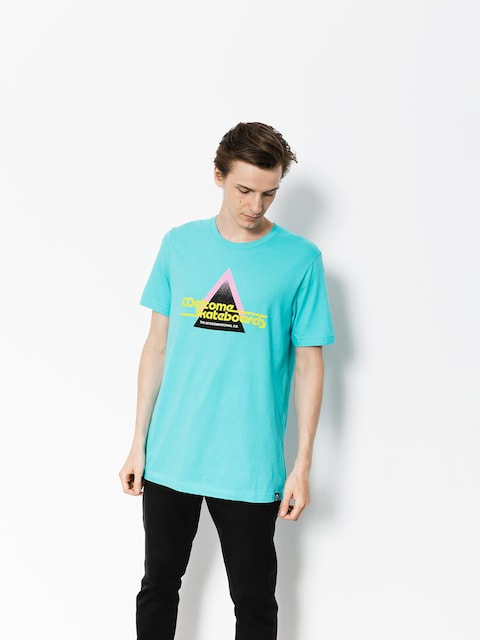 Welcome T-shirt Interdimensional (teal)