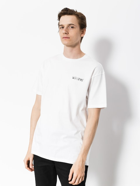 Welcome T-Shirt Talisman (white/black)