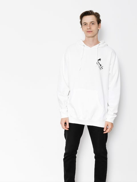 Welcome Hoodie Faces HD (white)