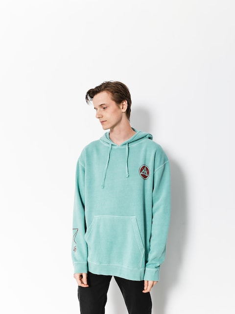 Welcome Hoody Maned Woof Pigment Dyed HD (mint)
