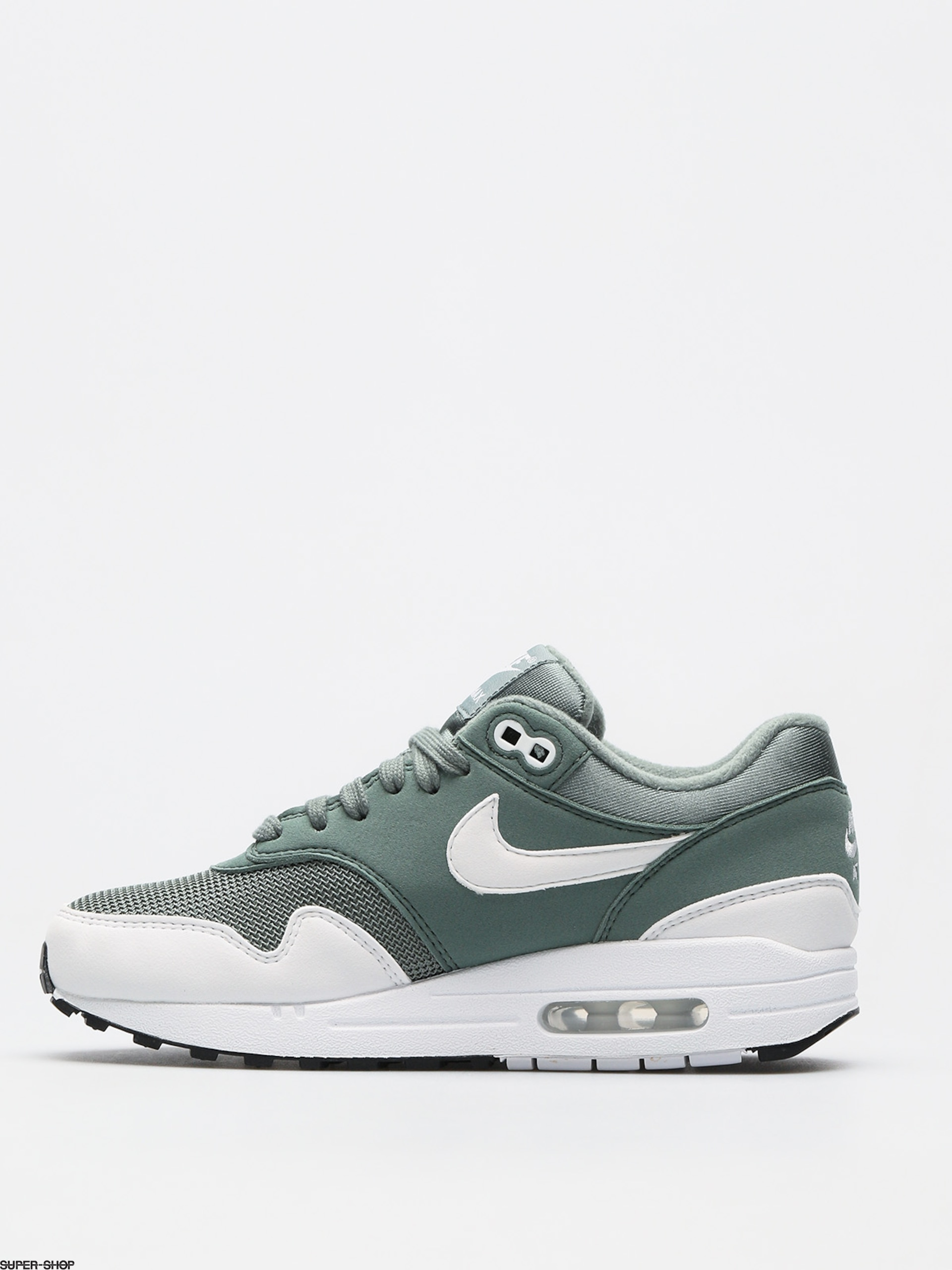 Nike Air Max 1 Shoes Wmn (clay green/white)
