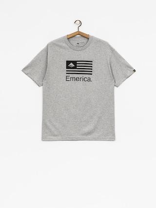 Emerica T-shirt Pure Flag (grey/heather)