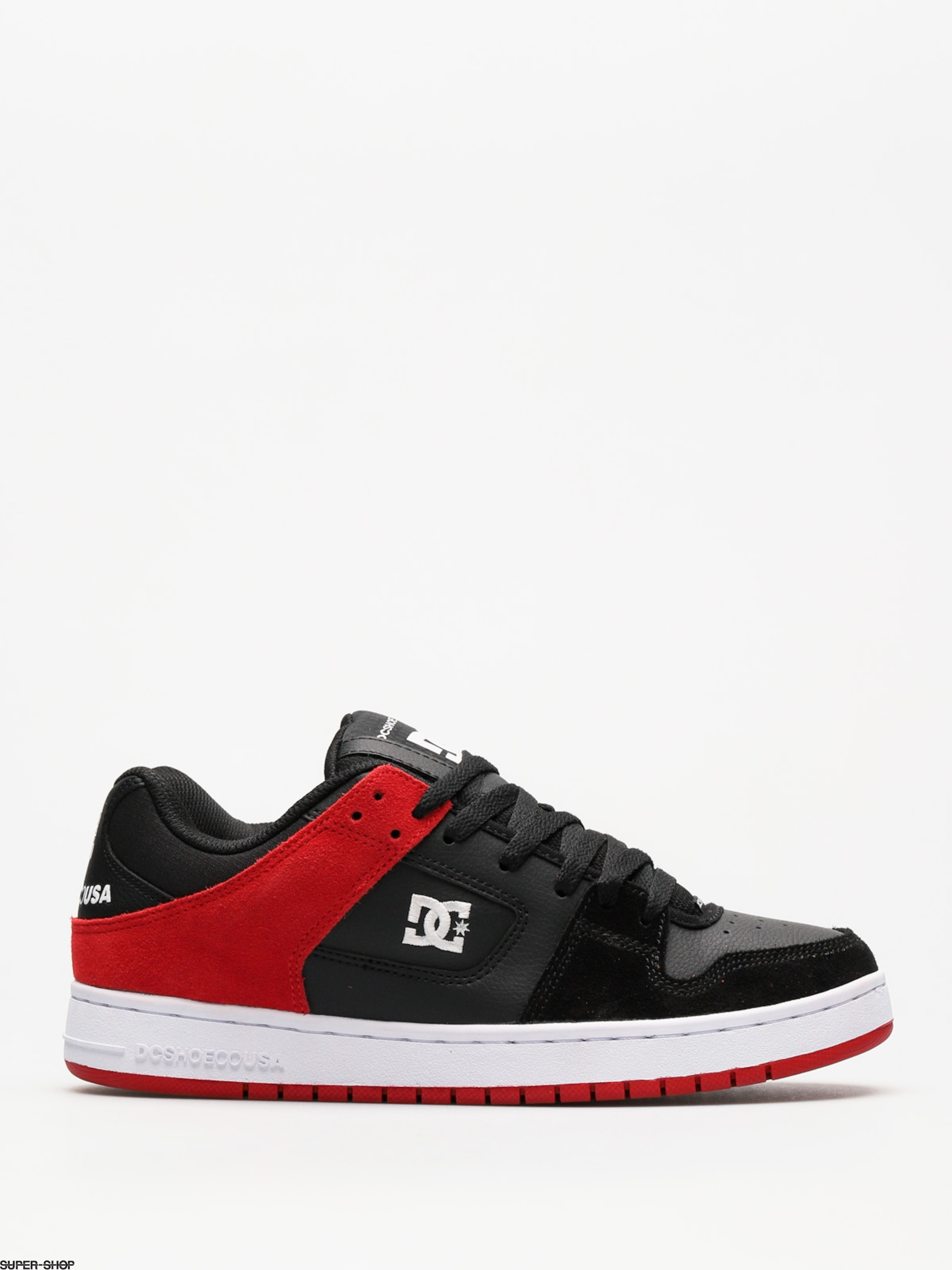 DC Shoes Manteca (black/athletic red)