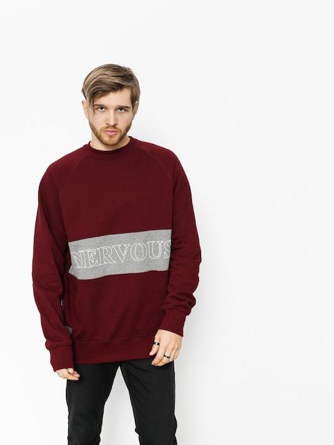 Nervous Sweatshirt Lane (maroon)