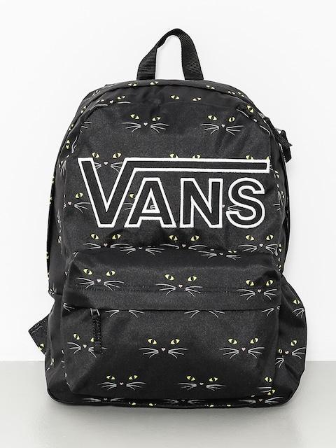 Vans Backpack Realm Flying V Wmn (black/cat)