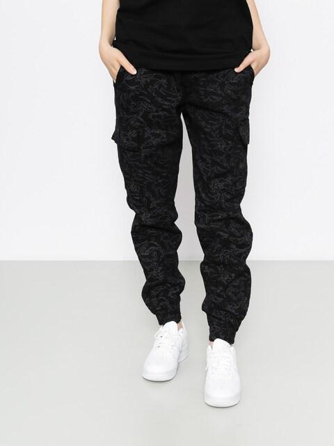 Diamante Wear Pants Flight School Hunter Jogger (black camo)