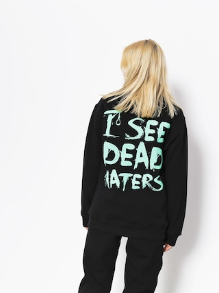 Diamante Wear Sweatshirt I See Dead Haters (black/mint)