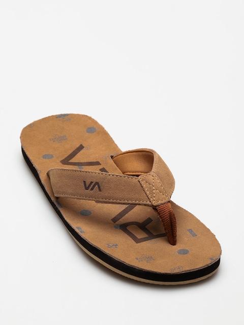 RVCA Flip-flops Federal (navy/khaki)