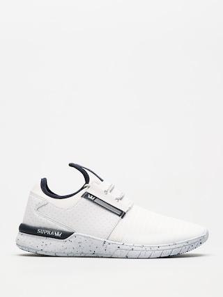 Supra Shoes Flow Run (white/navy/white)