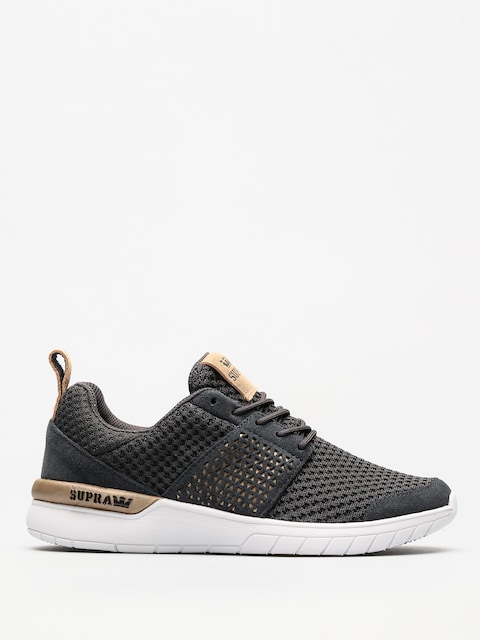 Supra Shoes Scissor Wmn (dk grey/white)