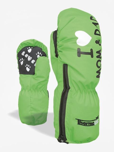 Level Gloves Kiddy Mitt (lime)