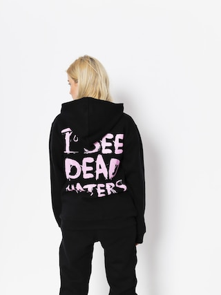 Diamante Wear Hoodie I See Dead Haters HD (black/pink)