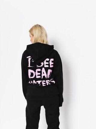 Diamante Wear Hoody I See Dead Haters HD (black/pink)