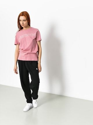 Hype T-shirt Justhype Wmn (pink/white)