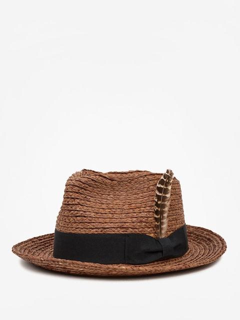 Brixton Hut Crosby II Fedora (brown)