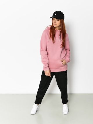Hype Hoodie Embroidered HD Wmn (pink/pink)