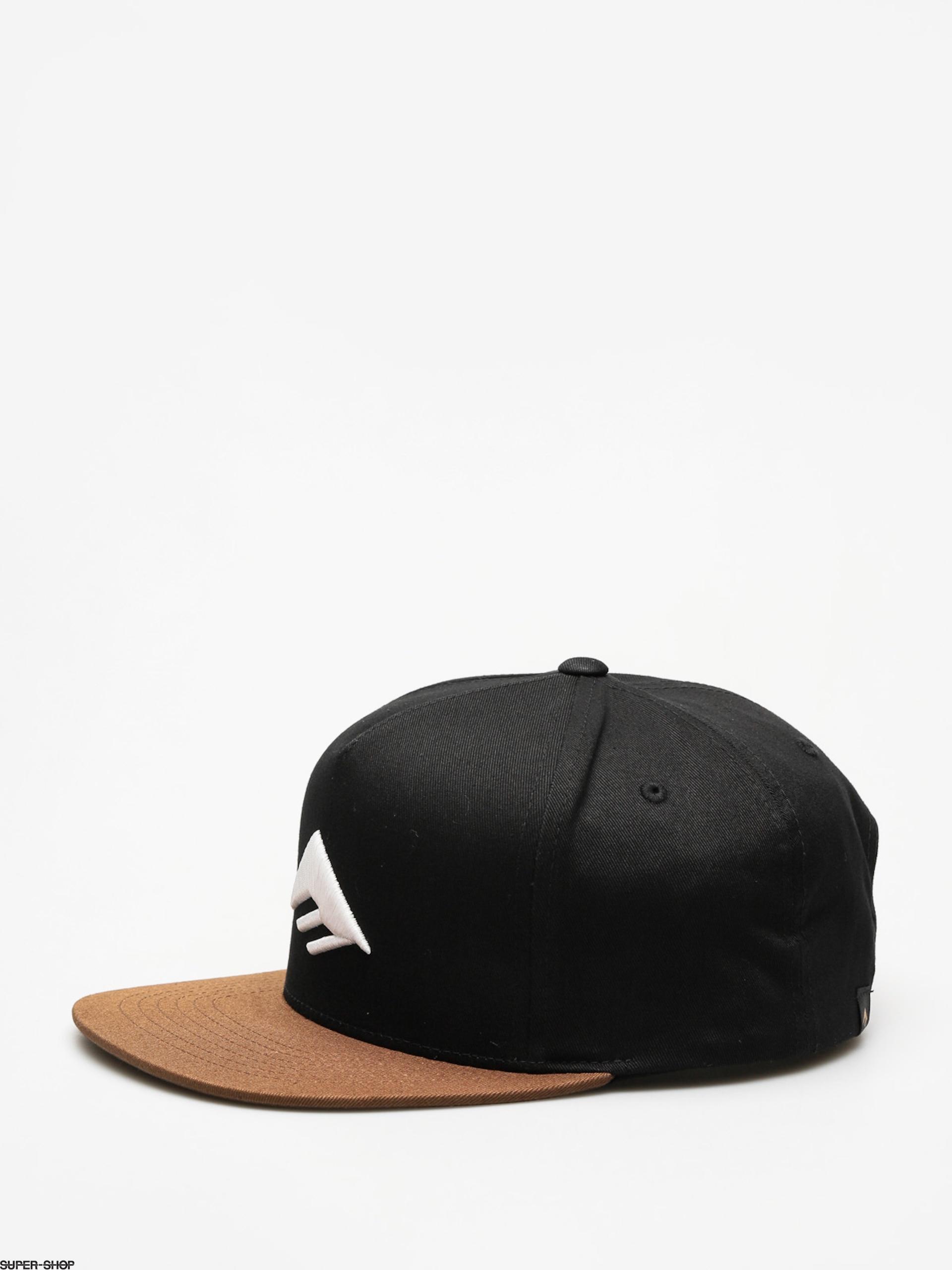 eb8e2964c Emerica Cap Triangle Snapback ZD (black/brown)