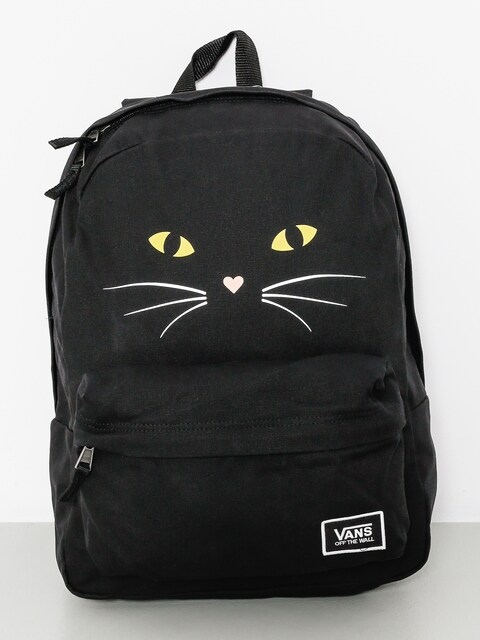 Vans Backpack Realm Classic Wmn (black/cat)