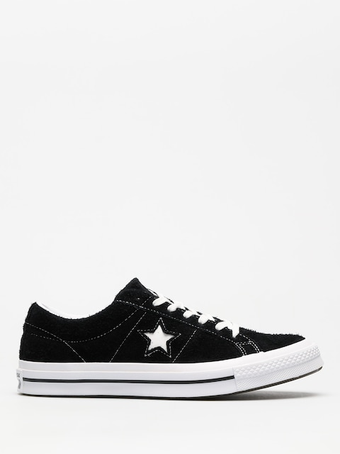 Converse Shoes One Star 74 Ox (black/white/white)