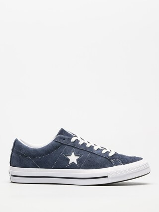 Converse Shoes One Star 74 Ox (navy/white/white)