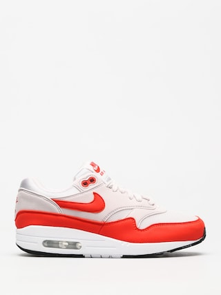 Nike Air Max 1 Shoes Wmn (vast grey/habanero red)