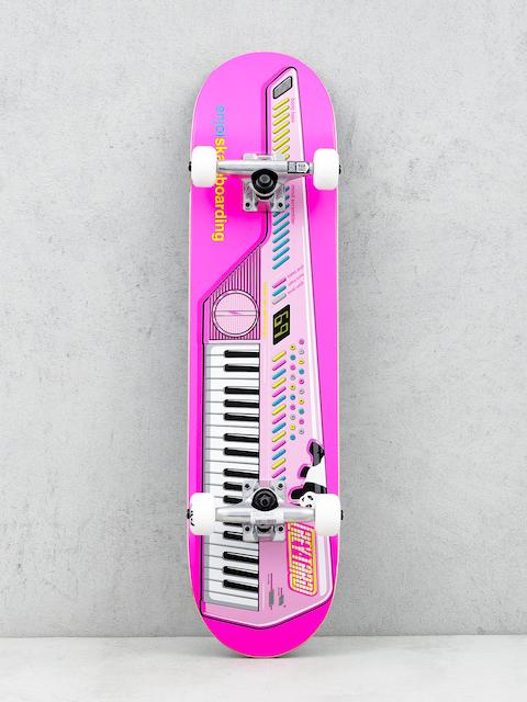 Enjoi Skateboard Neon Keytar (neon pink)