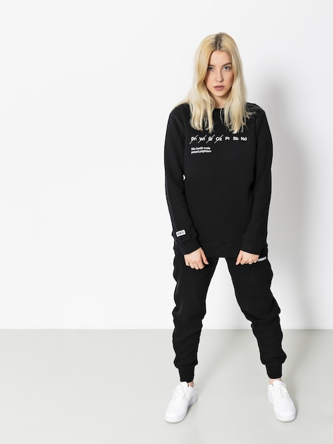 Diamante Wear Sweatshirt Nie Budź Mnie Wmn (black)