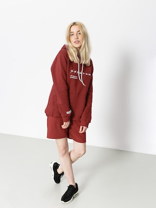 Diamante Wear Hoodie Nie Budź Mnie HD Wmn (burgundy)