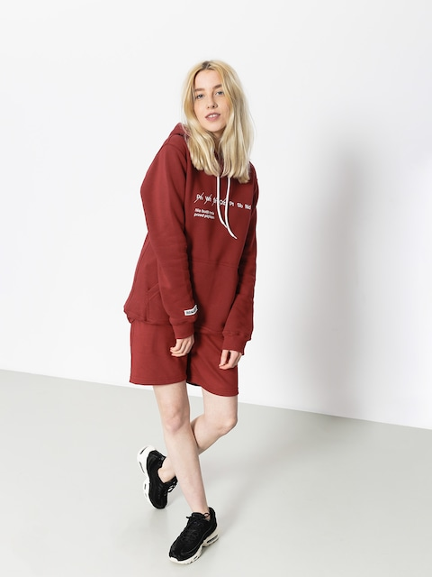 Diamante Wear Hoody Nie Budź Mnie HD Wmn (burgundy)