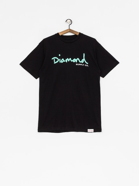 Diamond Supply Co. T-shirt Og Script (black)